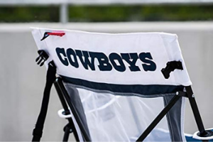 Cowboys camping chair - gifts for football fans