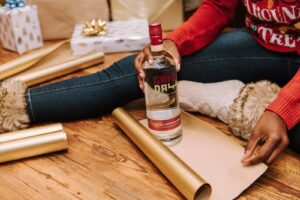GameDay All American Vodka Gift Wrap - gifts for football fans